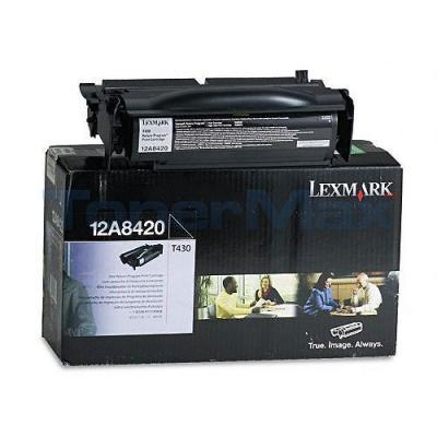 LEXMARK T430 TONER CARTRIDGE RP 6K